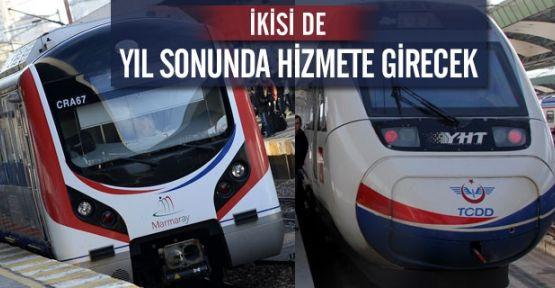 Marmaray ve Hızlı Tren 29 Ekimde açılıyor