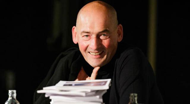 Dünyanın en etkili mimarlarından Rem Koolhaas 'Marka Konferansı'nda