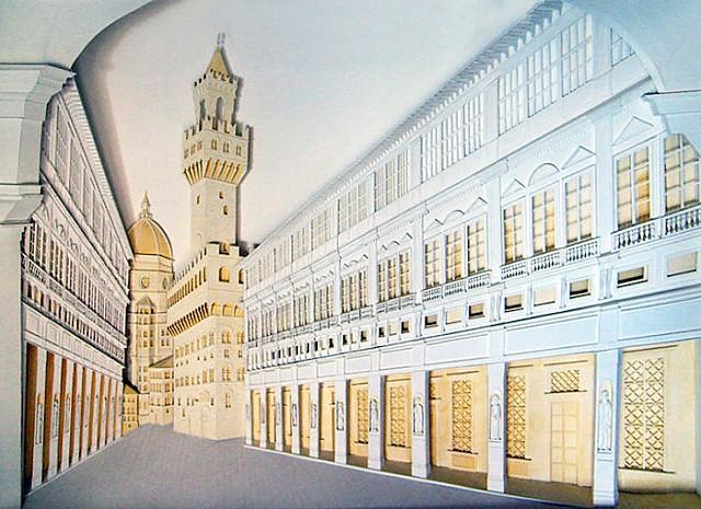 Mimarın Elinden Kağıttan Heykeller