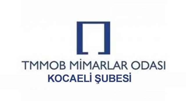 """Mimarlar Odası Kocaeli Şubesi: """"KOÜ Mimarlık Fakültesi'nin Mimar Sinan Haftası Etkinliğiyle İlgimiz Yoktur"""""""