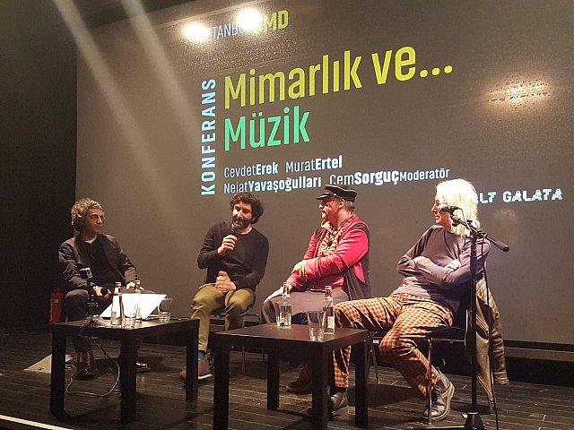 Müzisyenler Mimarlığı Konuştu