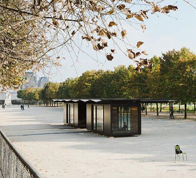 Paris Kent Kültürüne Tasarımcılardan Bir Hediye