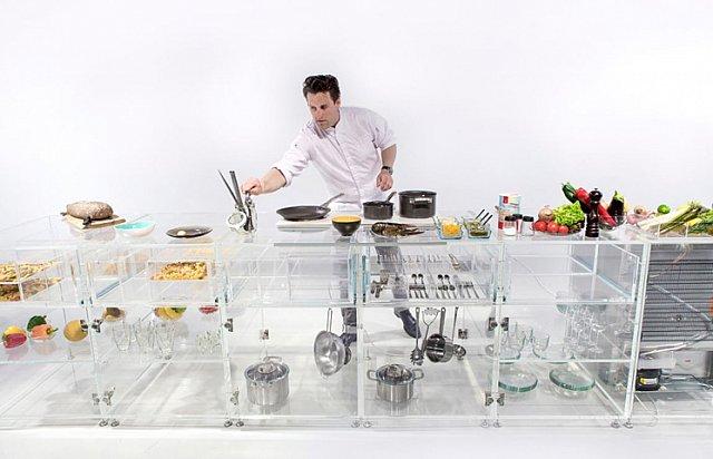 MVRDV'den Şeffaf Mutfak Tasarımı