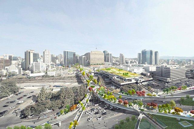 MVRDV'nin Kore'deki Gökyüzü Bahçesi Projesi Hayata Geçiyor