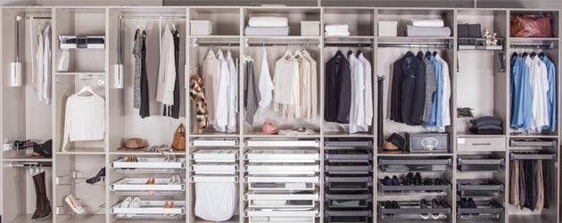 Her eve giyinme odası