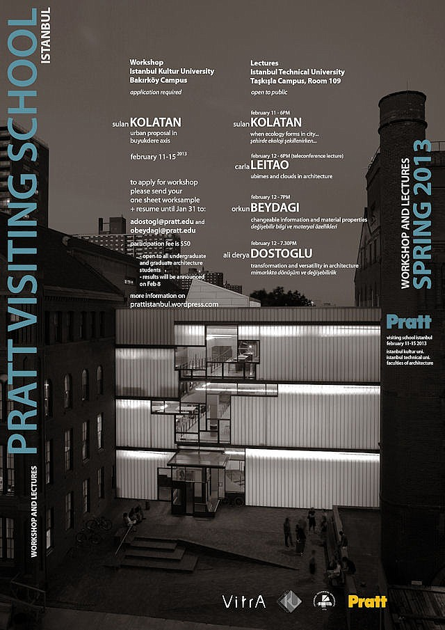 Pratt Visiting School Istanbul
