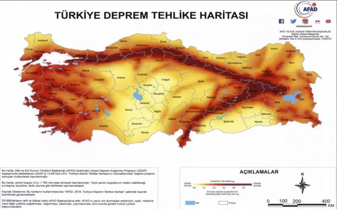 Sonunda Tam 22 Yıl Sonra Deprem Haritası Güncellendi