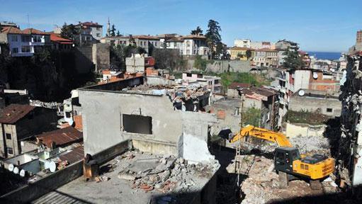 Tabakhane'de 312 Bina Yıkıldı