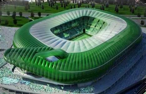 Bursa Timsah Arena Stadı inşaatında son durum!