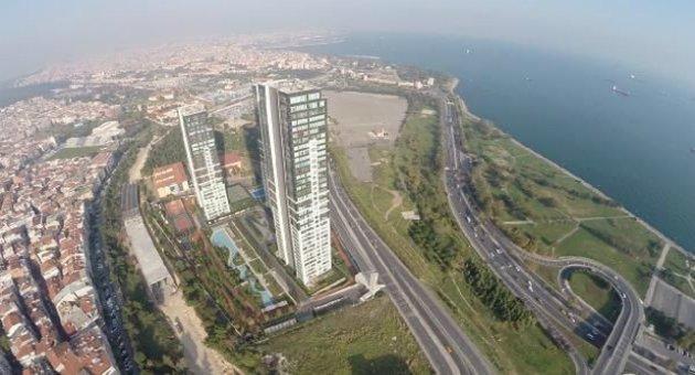 İstanbul Silüetine İkinci 16:9 Hançeri: 70 Metre