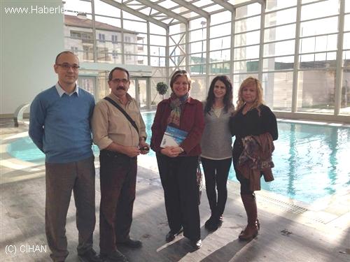 Türk Konsolos Soçi Olimpiyat İnşaat Tesislerini Ziyaret Etti