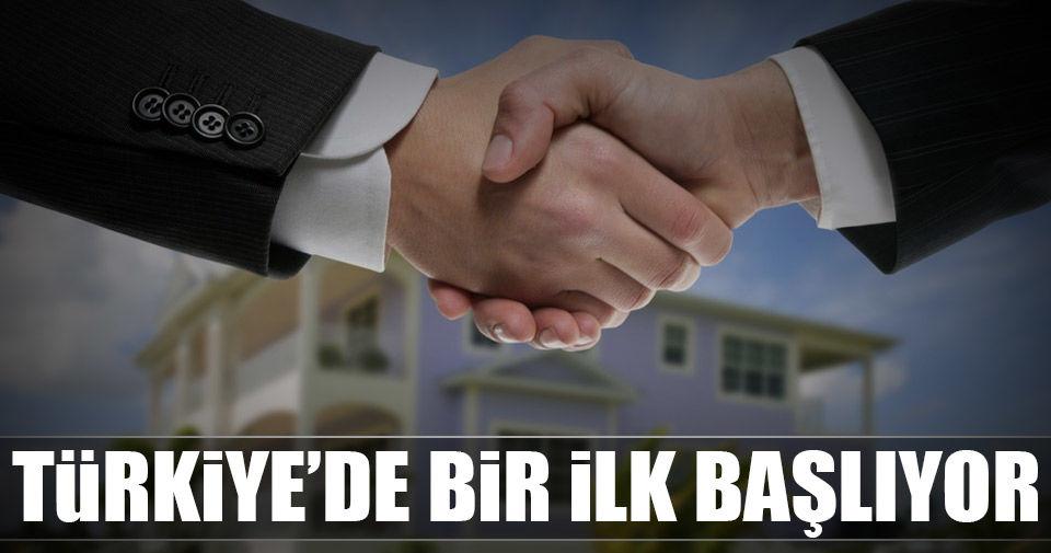 Türkiye'de bir ilk başlıyor