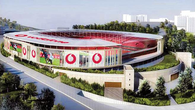 Vodafone Arena'nın 1. kısım kaba inşaat işlerini ihaleye açıyor
