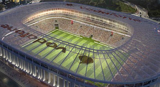 Vodafone Arena İnşaatına Mühür