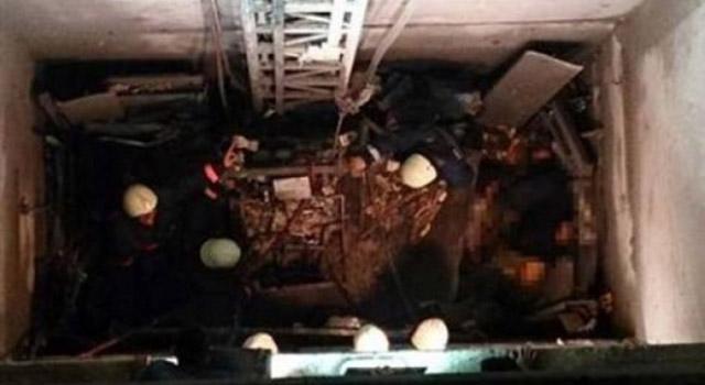 İzmir'de Asansör Yere Çakıldı: 4 İşçi Yaralı