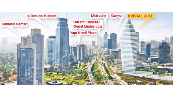 Yunanlar İstanbul'da 'dev gökdelen' aldı