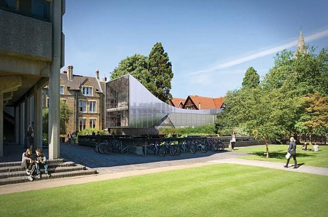 Zaha Hadid Orta Doğu'nun Merkezini Oxford'da İnşa Ediyor